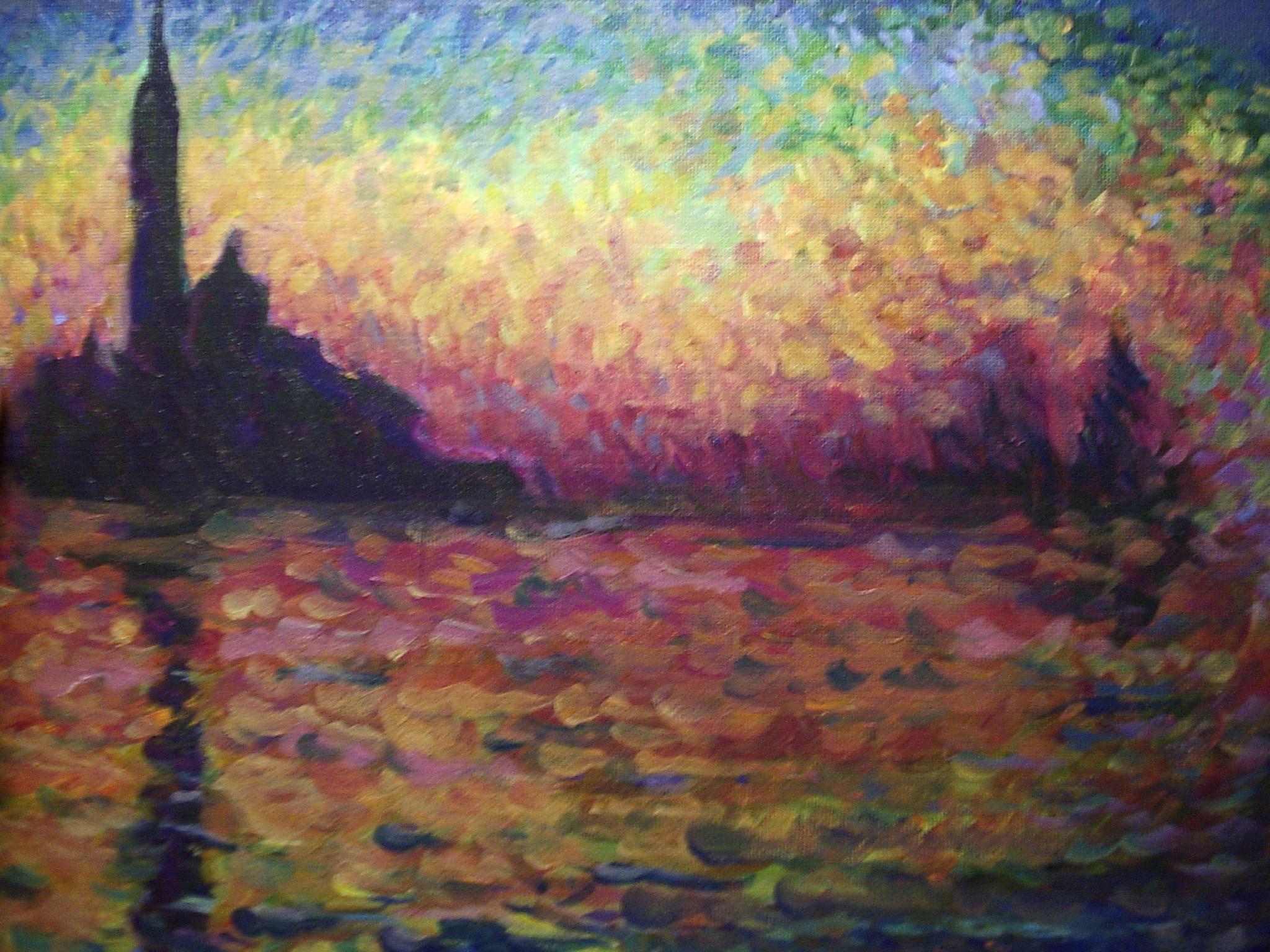 Monet painting by awassabee