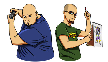 Two Bald Nerds