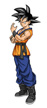 Son-Goku (Evolution style)