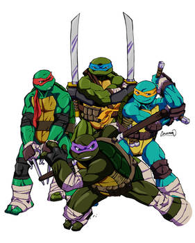 Heroes In A Half Shell By Redcole84