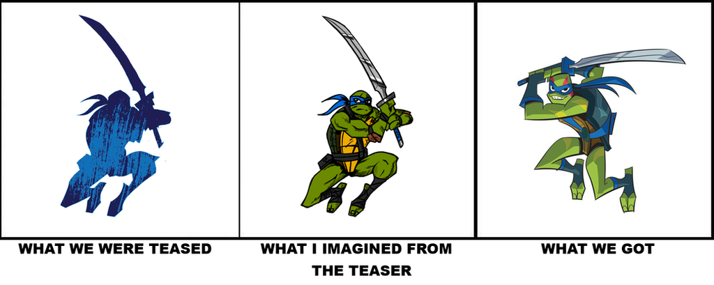 Rise of TMNT - What I Saw by Elden-rucidor