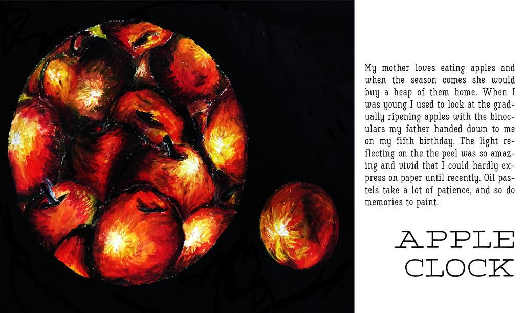 Apple clock by twinkletoes77