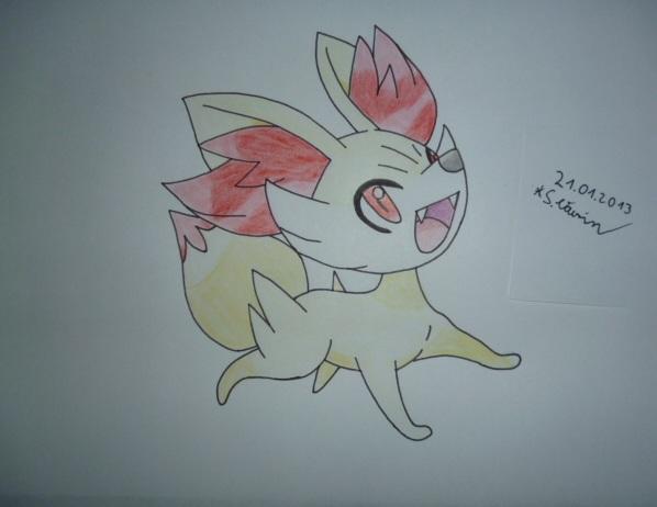 how to draw fennekin pokemon