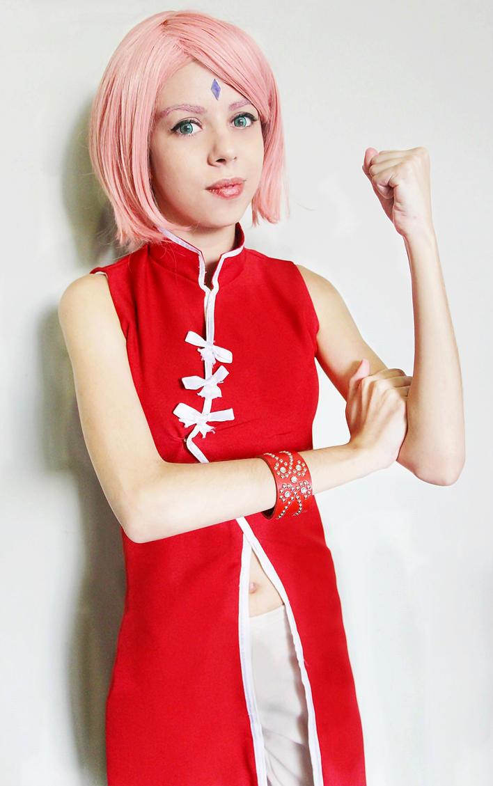Body the Sakura haruno nackt sexy