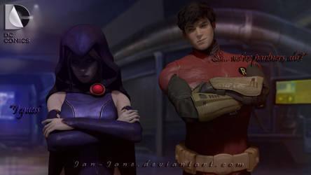 DC - Raven X Jason