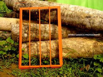 Orange Window by armedconflict