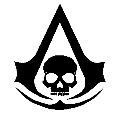 Assassin S Creed Iv Black Flag Logo By Costitan Productions On