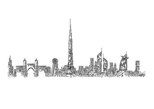 Dubai Typography