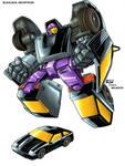 Transformers Blackjack bot car