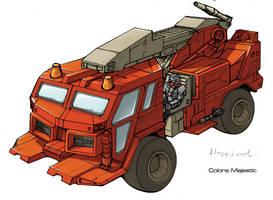 Transformers Hosehead truck by VulnePro