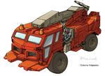 Transformers Hosehead truck