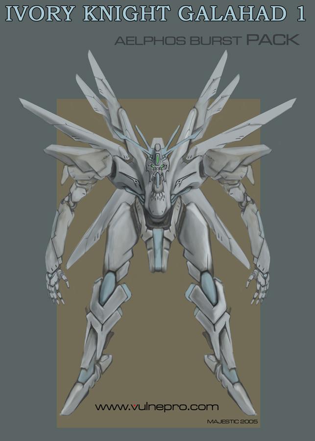 Ivory Knight Galahad 1 by VulnePro