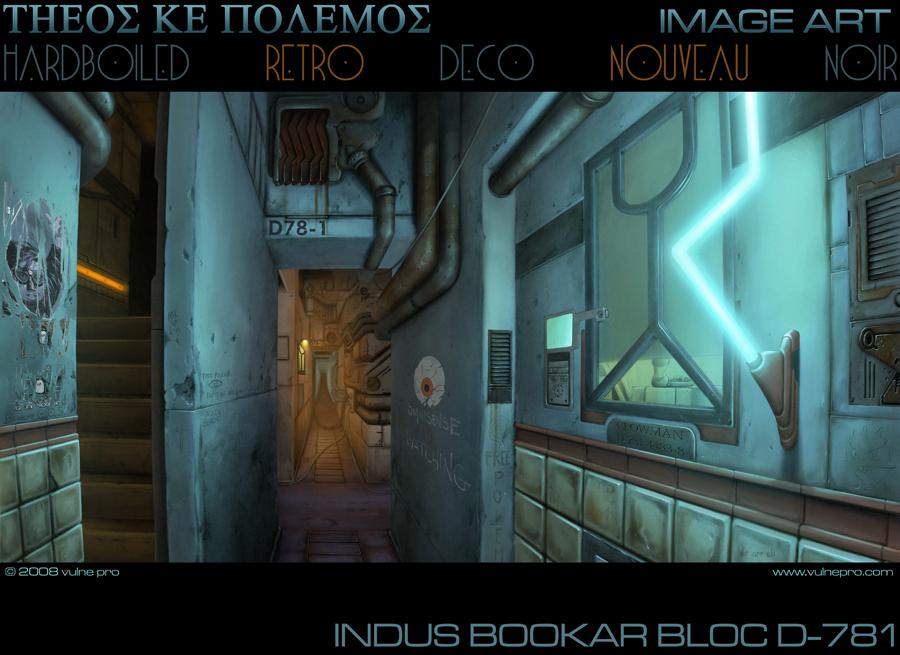 Indus Bookar Bloc D-781 by VulnePro