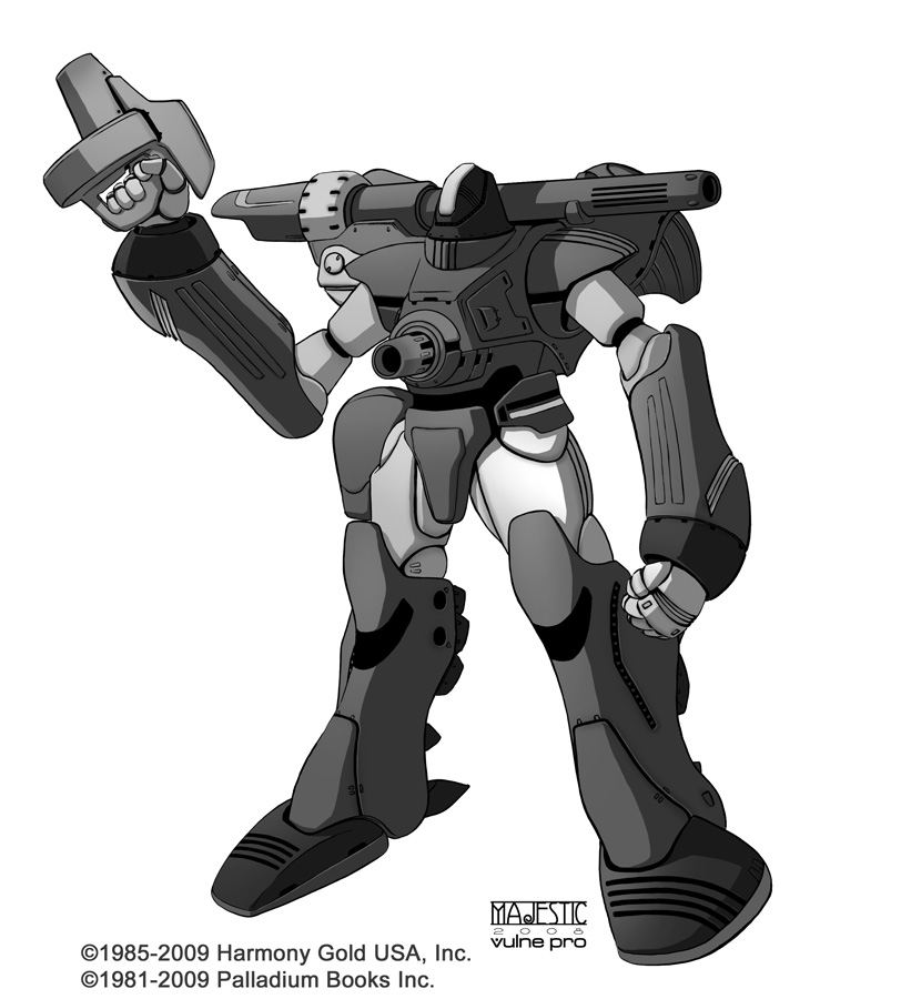 Robotech Zentraedi Power armor by VulnePro