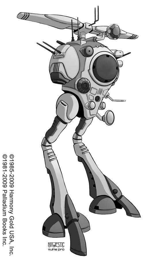 Robotech Zentraedi Recon Pod by VulnePro