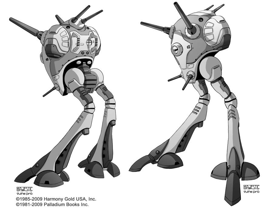 Robotech Zentraedi Battle Pod by VulnePro