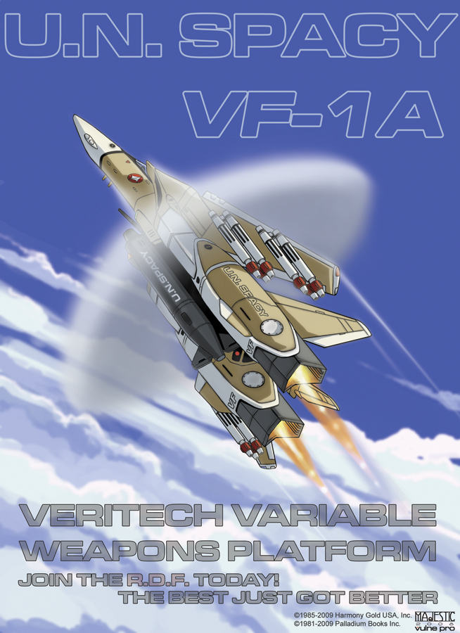Robotech VF-1A UN Spacy by VulnePro