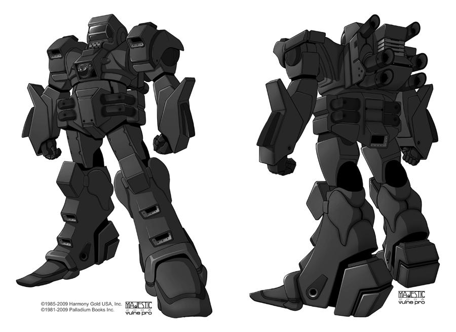 Robotech Manticore by VulnePro