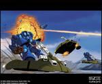 Robotech Bioroid combat