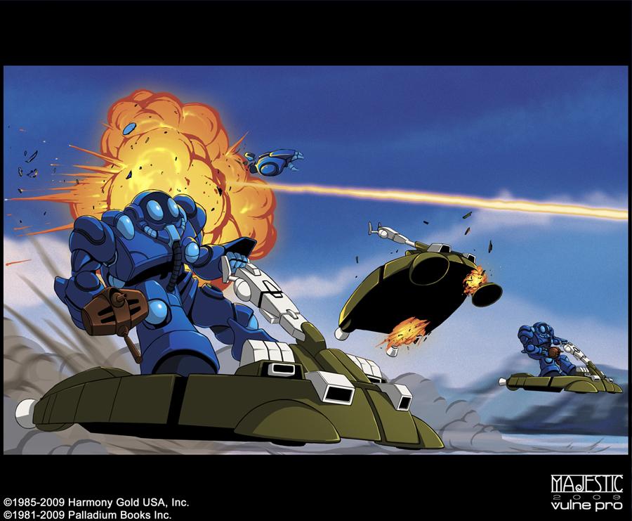 Robotech Bioroid combat by VulnePro