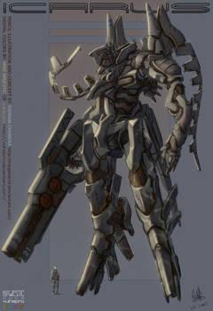 Icarus MeganeRid color collab