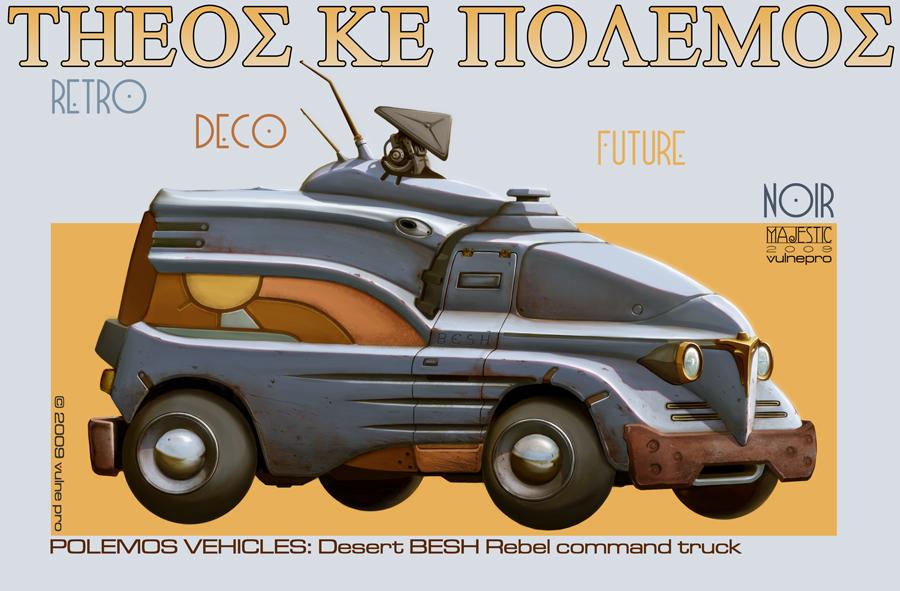 Besh desert truck