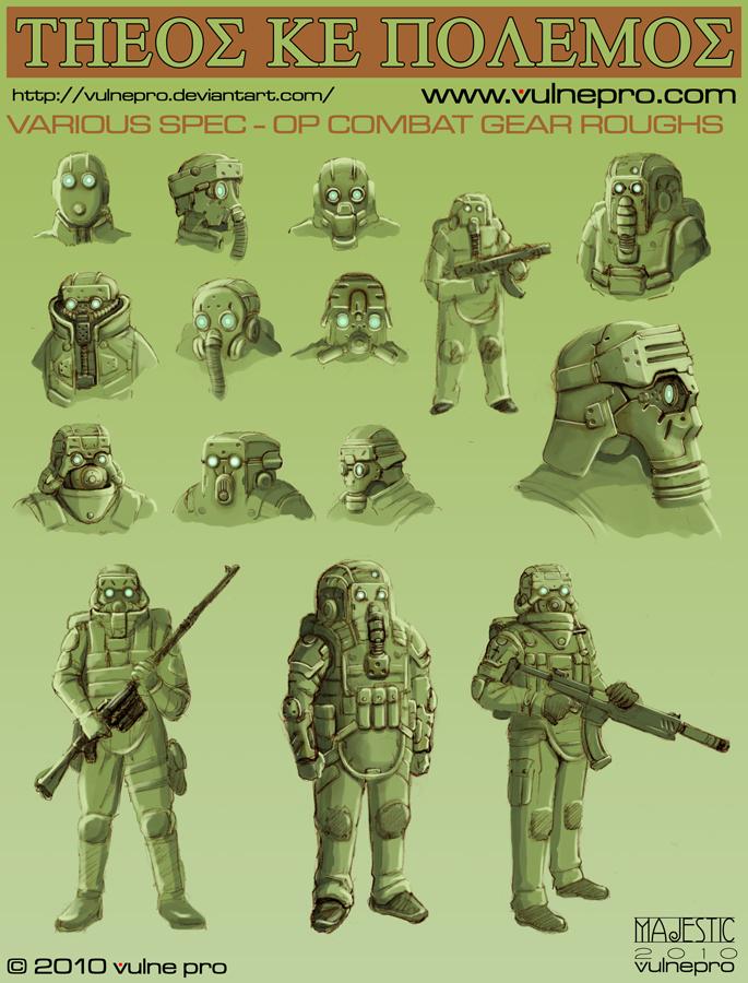 Spec-Op Combat Gear roughs 01 by VulnePro