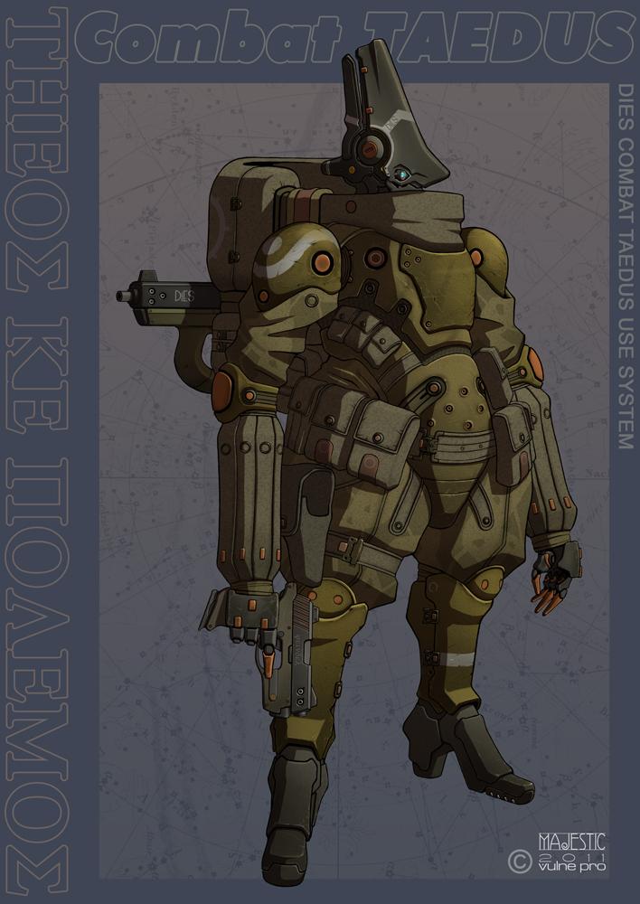 Dies Combat Taedus 01 by VulnePro