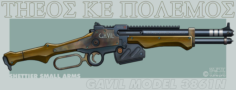 Gavil Model 3861N Shettier by VulnePro