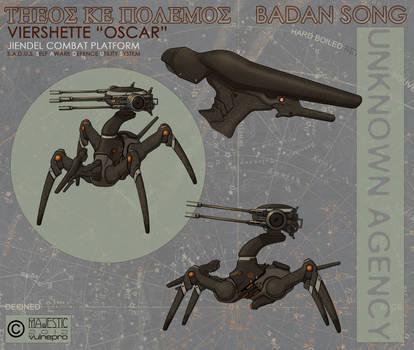 Jeindel Viershette SADUS combat platform