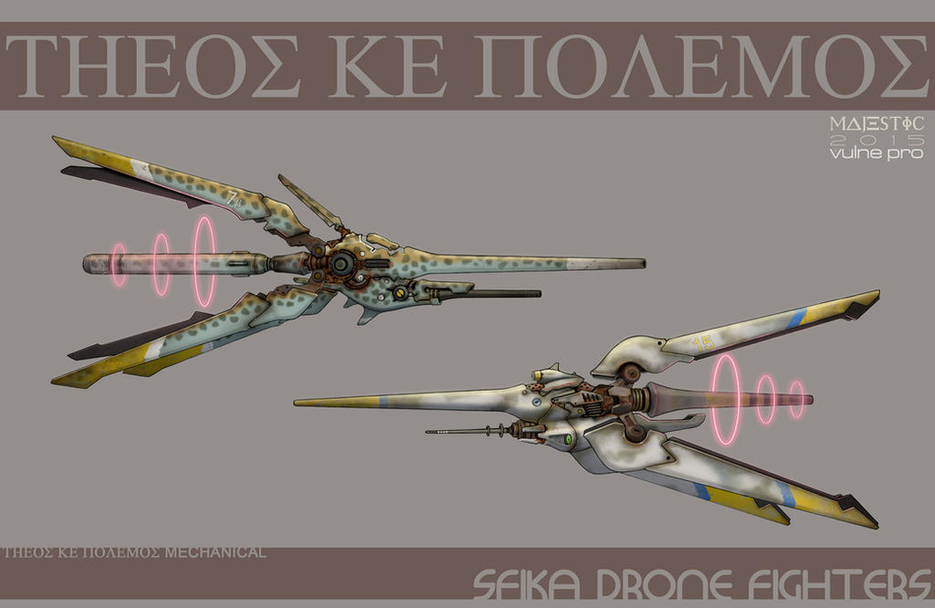 Sfika drone fighters by VulnePro