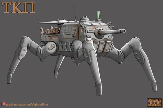 Spider Assault Gun-01 Preview