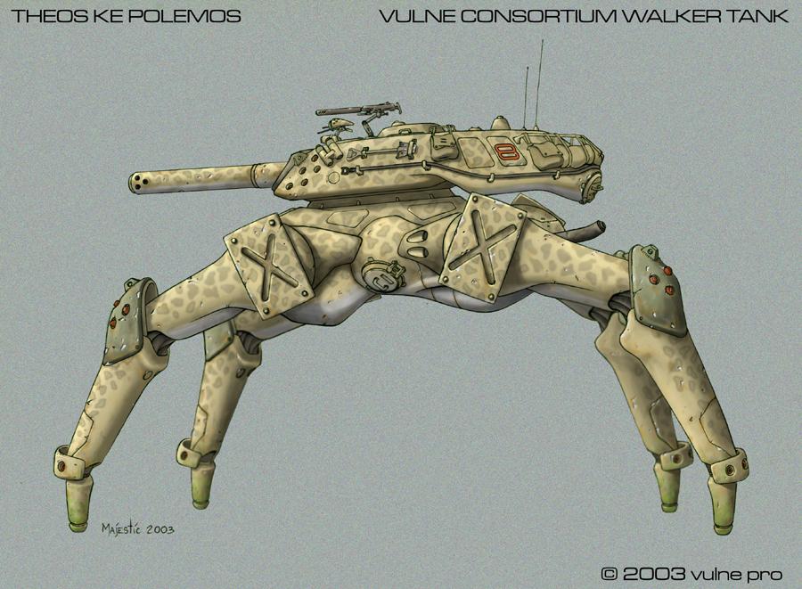 Vulne Consortium Walker Tank by VulnePro