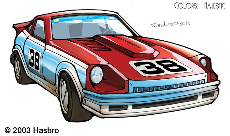 Transformers Smokescreen car