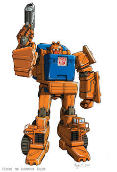 Transformers Wideload bot