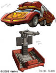 Transformers Rodimus Prime Car