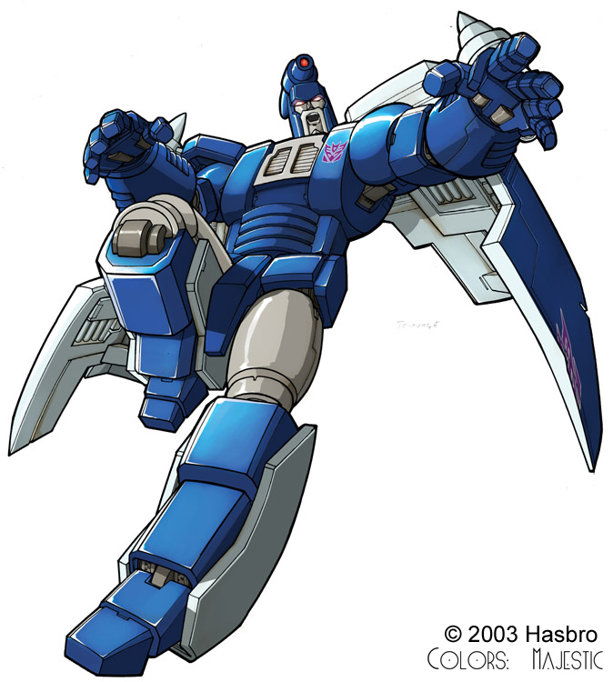 Transformers Scourge Bot