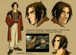 Estin Tse anime model sheet