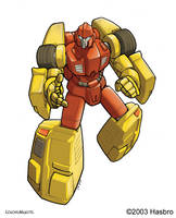 Transformers FreeWheeler Bot by VulnePro