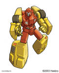 Transformers FreeWheeler Bot