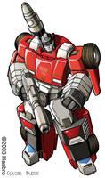 Transformers Sideswipe bot by VulnePro