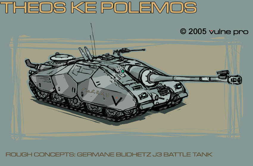 Germane Blidhetz J3 Tank by VulnePro