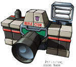 Transformers Reflector camera