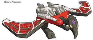 Transformers Laserbeak bird