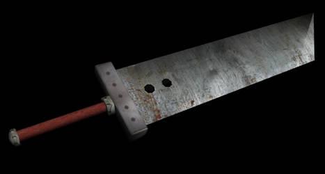 Buster Sword Replica by thebrokenminor