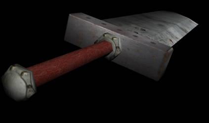 Buster Sword by thebrokenminor