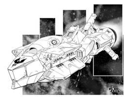 Battletech - Cameron Class Battlecruiser by sharlin