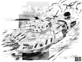 Battletech - Vel Harasser by sharlin