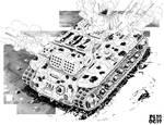 Battletech - Nergal Support Tank