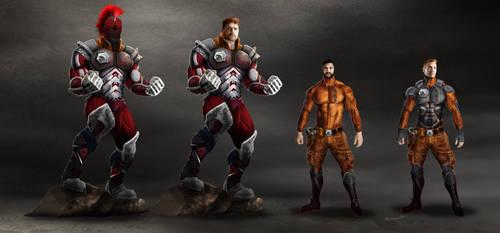Battletech - Combat Uniforms.